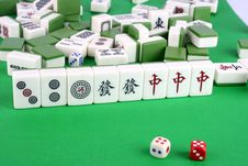 Free Mahjong Royalty Free Stock Photos - 14788868