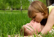Free Sweet Kiss Stock Photos - 14789323