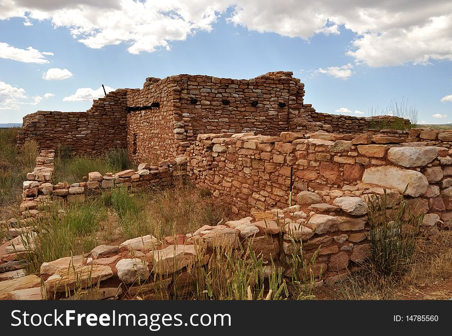 Ancient Indian Ruin