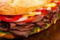 Free Roast Beef Sandwich Royalty Free Stock Photography - 14791007