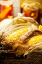 Free Grilled Corn Stock Image - 14791131