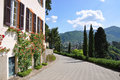 Free Villa Servelloni At The Famous Italian Lake Como Royalty Free Stock Photo - 14792495