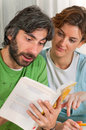 Free Reading As A Pair Stock Photo - 14797030