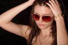 Free Girl In Sunglasses Stock Image - 14790181