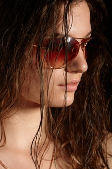 Free Girl In Sunglasses Royalty Free Stock Photography - 14790417