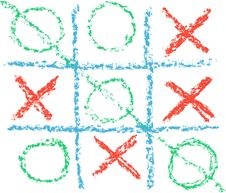 Free Tic Tac Toe Royalty Free Stock Photos - 14790648