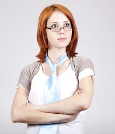 Free Young Businesswomen In White Stock Photography - 14791112