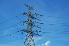 Free Electricity Pylon Royalty Free Stock Photos - 14791268