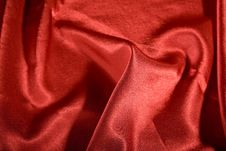 Free Elegant And Soft Red Satin Stock Photos - 14791813