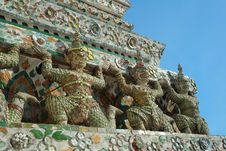 Pagoda At Wat Arun Stock Images