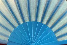 Free Blue Damenfaecher Stock Image - 14792271