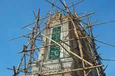 Free Renovation Pagoda At Wat Arun Stock Image - 14792461
