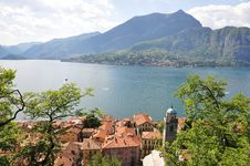 Bellagio Town At The Italian Lake Como Stock Photography