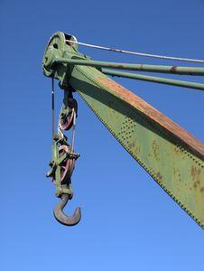 Free Dockyard Crane Royalty Free Stock Photography - 14792767