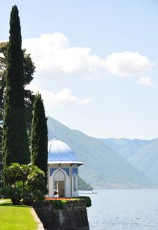Famous Italian Lake Como Stock Images