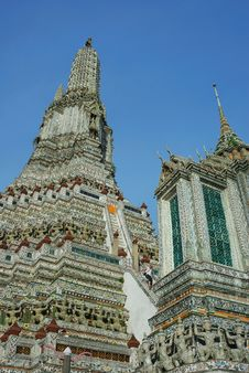 Free Pagoda At Wat Arun Royalty Free Stock Images - 14792849