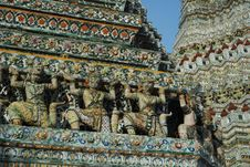 Free Pagoda At Wat Arun Royalty Free Stock Photos - 14792928