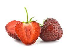 Free Strawberries Isolated Stock Photo - 14793190