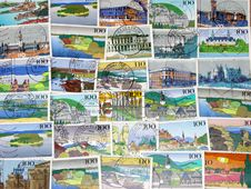Free Stamps Of Germany Stock Image - 14793771