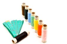Free Colored Spools Of Thread Stock Photo - 14793810