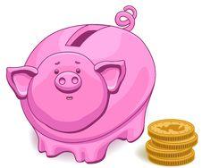 Free Piggy Bank Stock Image - 14793991