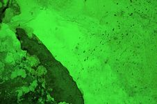 Free Acid Green Rotten Surface Royalty Free Stock Images - 14794349