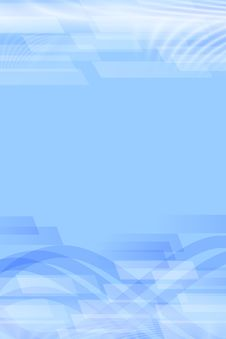 Azure Abstract Template Royalty Free Stock Photo