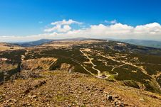 Free Spectacular Mountains Panoramic View. Royalty Free Stock Photo - 14794915
