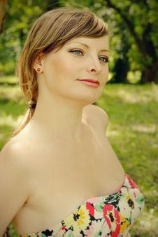 Free Beautiful Young Woman Close Up Stock Photos - 14794933