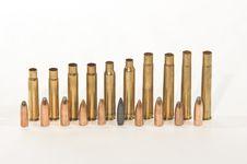 Free Long Weapon Ammunition Royalty Free Stock Photo - 14795325