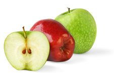 Free Green And Red Apples Stock Photography - 14795562
