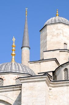 Free Blue Mosque Istanbul Royalty Free Stock Photo - 14795885