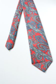Paisely Tie Stock Photography
