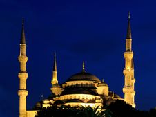 Free Blue Mosque Istanbul Stock Photography - 14796062