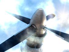 Free Propeller   Planer Royalty Free Stock Photo - 14796125