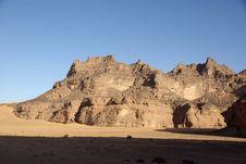 Mountain In Libya Royalty Free Stock Photo