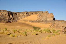 Landscape In Libya Stock Images