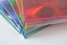 Cd Jewel Cases Stock Image