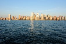 Free Manhattan Skyline Royalty Free Stock Photo - 14796795