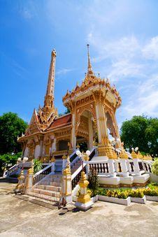Free Buddhist Crematory Thailand Royalty Free Stock Photos - 14796898