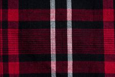 Free Texture Of Red-black Checkered Fabric Royalty Free Stock Images - 14797339