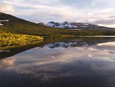 Free Wild Landscape Of Lake Royalty Free Stock Image - 14797366