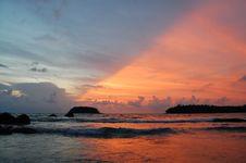 Free Diagonal Sunset Royalty Free Stock Photos - 14798448
