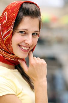 Free Russian Young Woman Royalty Free Stock Image - 14799616