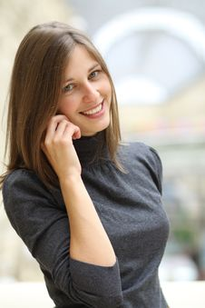 Free Woman With Mobile Telephone Stock Photo - 14799640