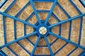 Free Architectural Abstract-metal Wooden Gazebo Roo Royalty Free Stock Photo - 1485165