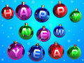 Free Christmas Balls Stock Images - 1486584