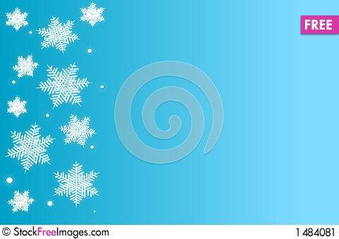 Free Snowflakes Stock Image - 1484081