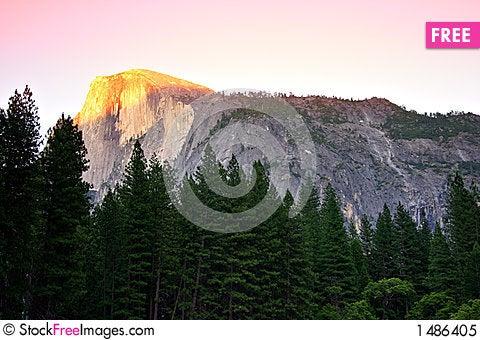 Free Half Dome, Yosemite National Park Royalty Free Stock Photo - 1486405