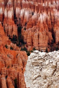 Free Amphitheater - Bryce Canyon Royalty Free Stock Photos - 1481048